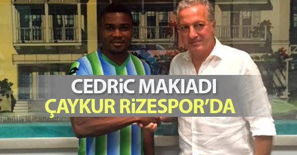 ÇAYKUR RİZESPOR BASIN BÜLTENİ (27 AĞUSTOS 2015) - Cedric Makiadi transferi