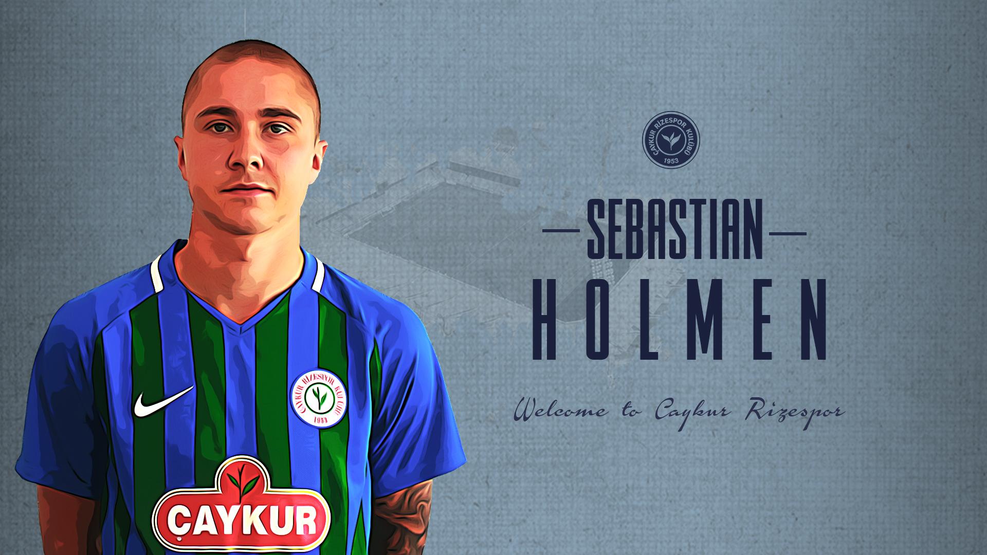 Rasmus Sebastian Holmen İçin Stadyumda İmza Töreni Düzenlendi