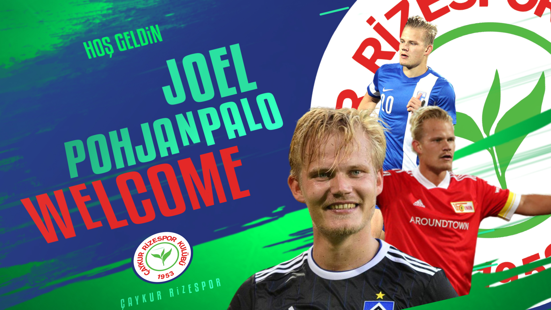 Hoş Geldin Joel Pohjanpalo
