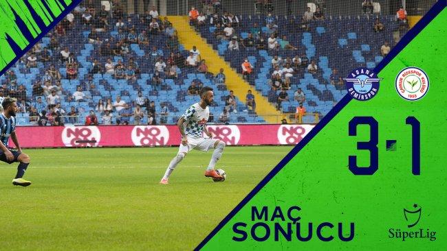 Adana Demirspor 3:1 Çaykur Rizespor