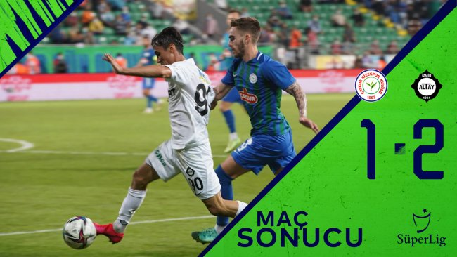 Çaykur Rizespor 1-2 Altay