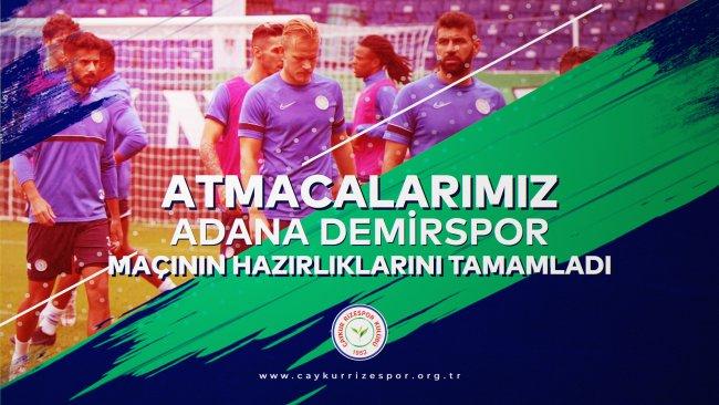 Atmacalarımız, Adana Demirspor Maçının Hazırlıklarını Tamamladı