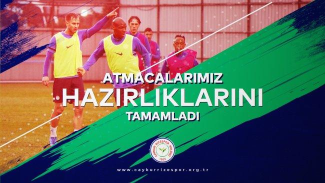 Atmacalarımız, Galatasaray Maçının Hazırlıklarını Tamamladı